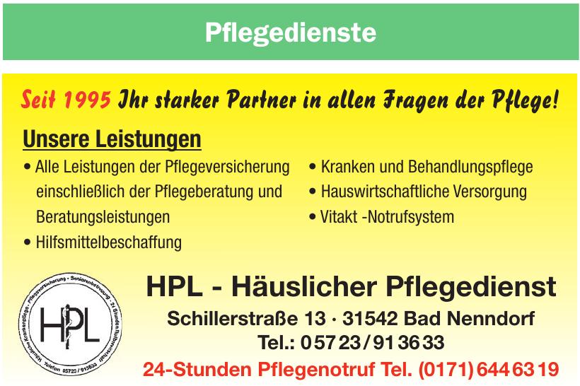 HPL - Häuslicher Pflegedienst