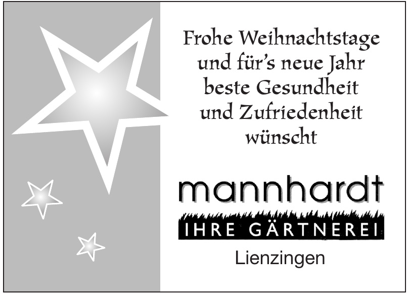 mannhardt - Ihre Gärtnerei