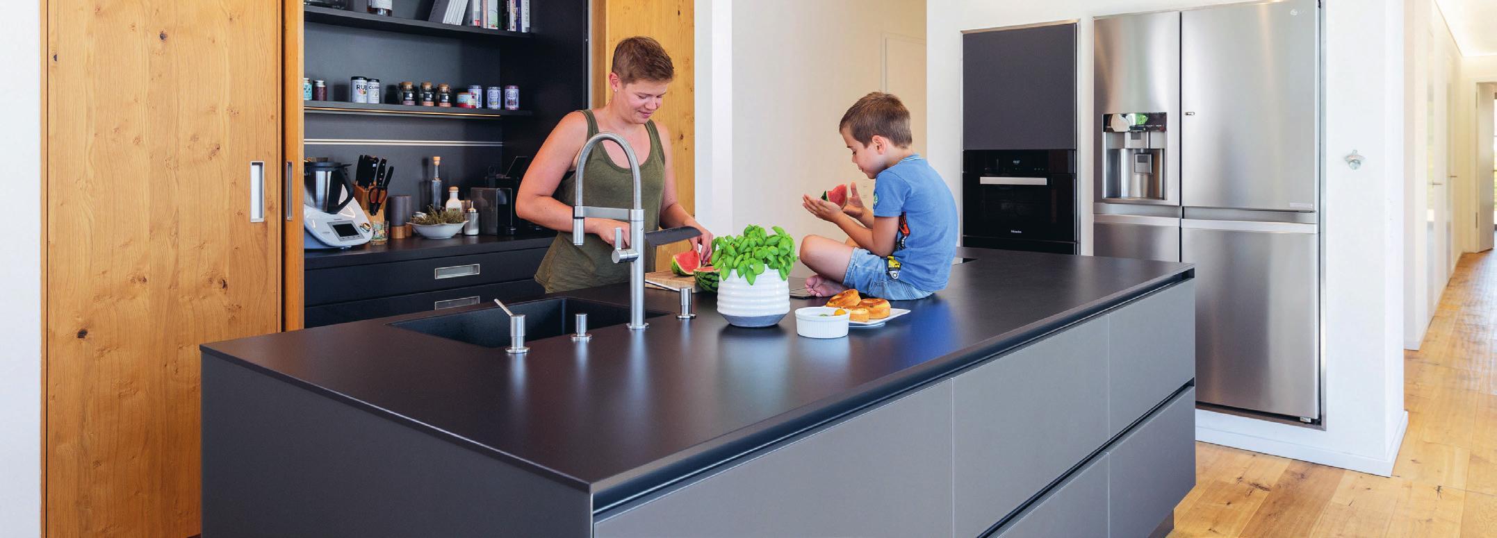 Großzügig, hell und barrierefrei: Die vier Wohnungen im Mehrgenerationenhaus bieten viel Wohnkomfort.