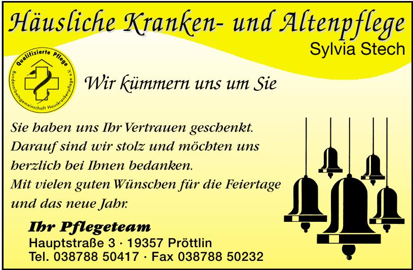 Häsliche Kranken- und Altenpflege Sylvia Stech