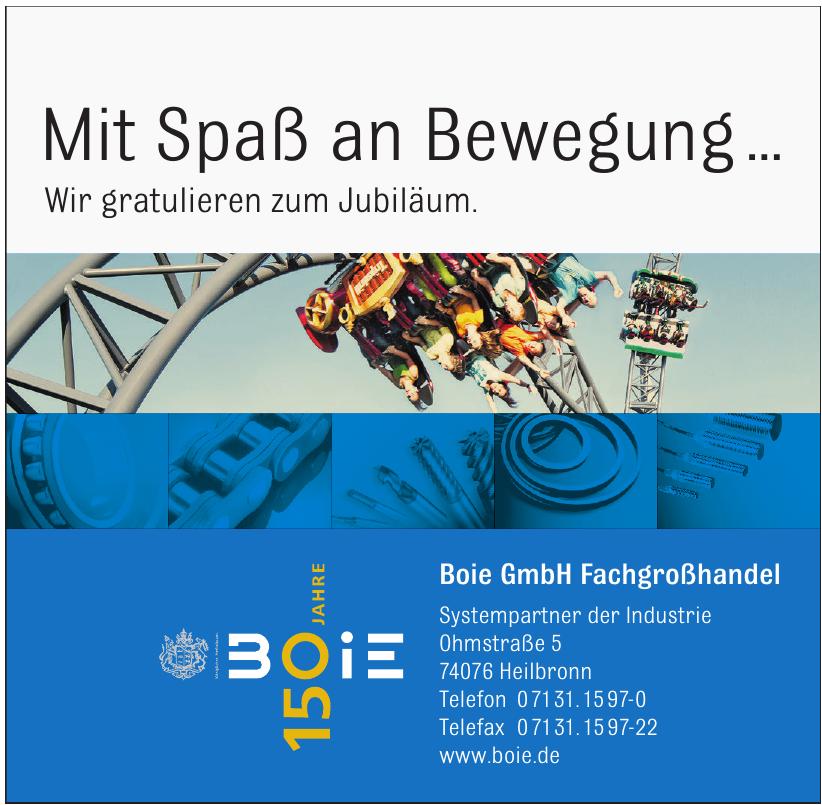 Boie GmbH Fachgroßhandel