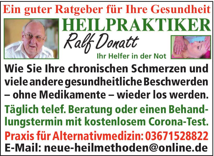 Heilpraktiker Ralf Donatt