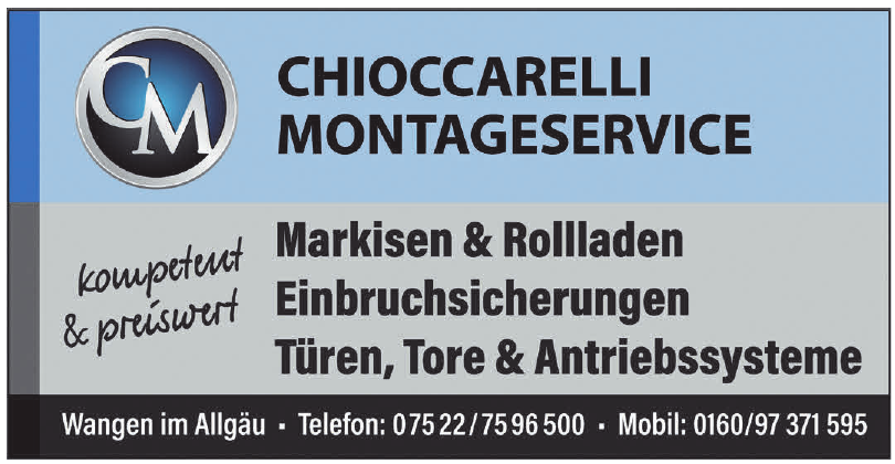 Chioccarelli Montageservice