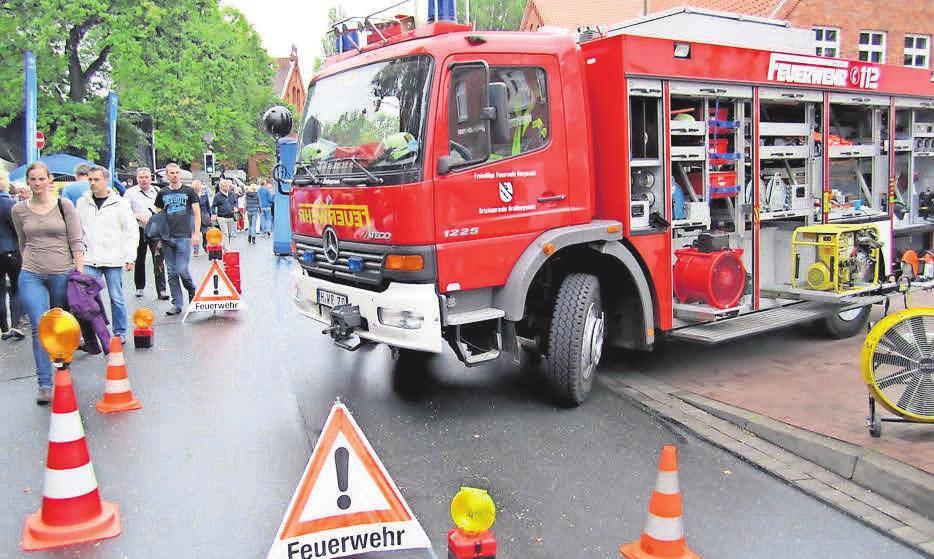 """""""Bahn frei: Während des Stadtfestes gehört der Innenstadtbereich den Ausstellern, Akteuren und Besuchern."""" Foto: Witzig"""