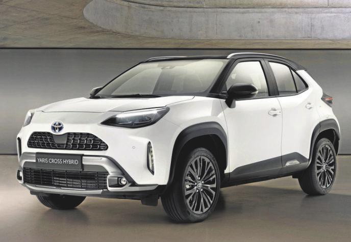 """Zum Start gibt es den Toyota Yaris Cross in einer """"Adventure""""-Version."""