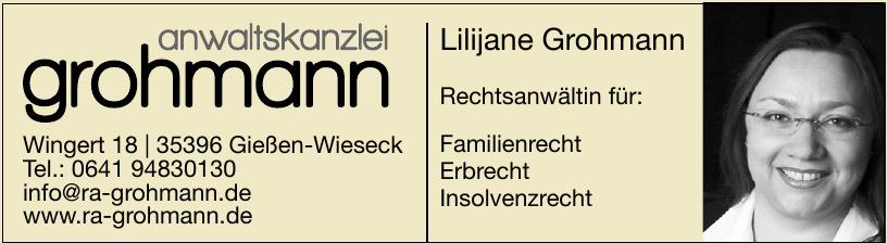 Anwaltskanzlei Grohmann