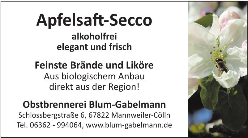 Obstbrennerei Blum-Gabelmann
