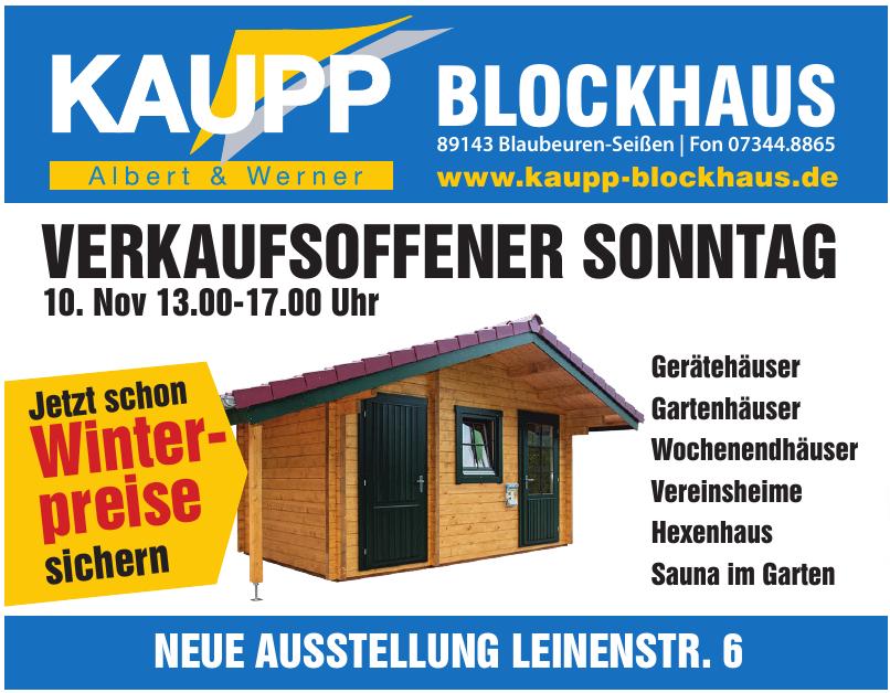 Kaupp Blockhaus