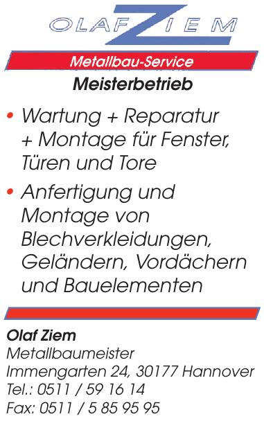Olaf Ziem Metallbau