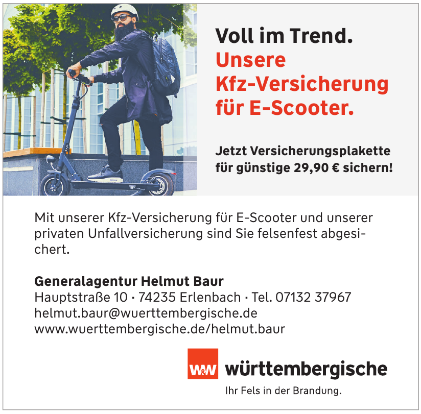 Württembergische - Generalagentur Helmut Baur
