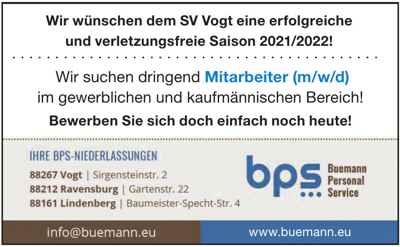 bps Buemann Personal Service