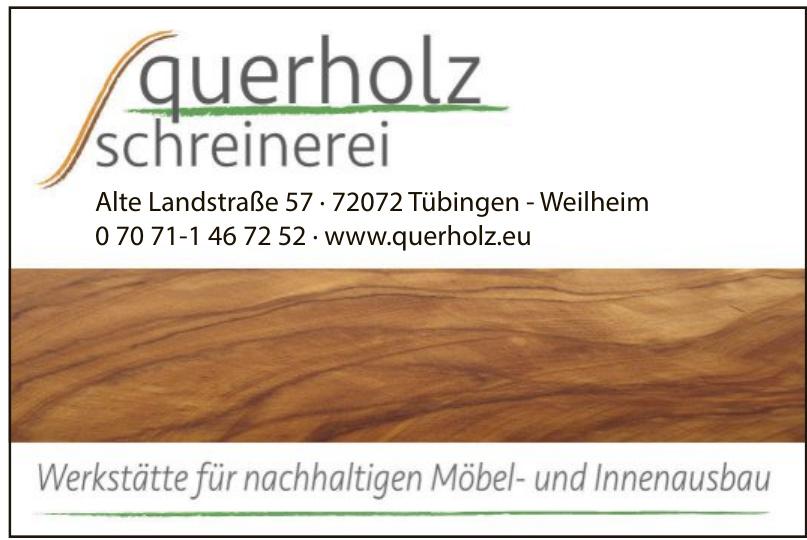 Querholz Schreinerei