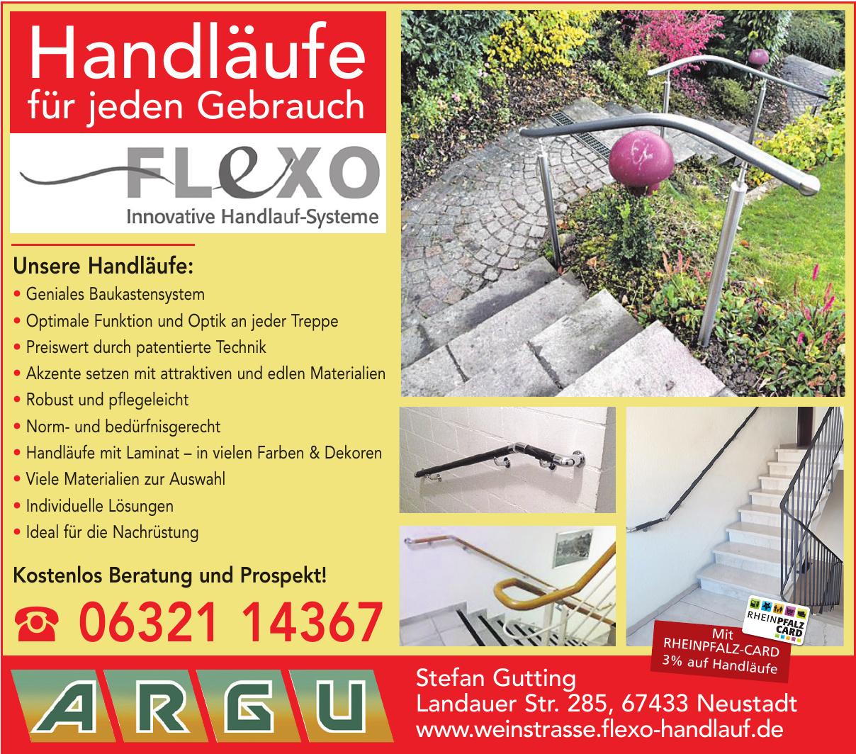 Flexo Handläufe
