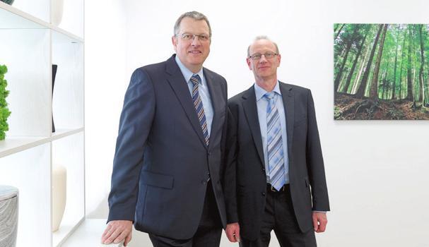 Thomas Fulrich und Klaus Niederberger