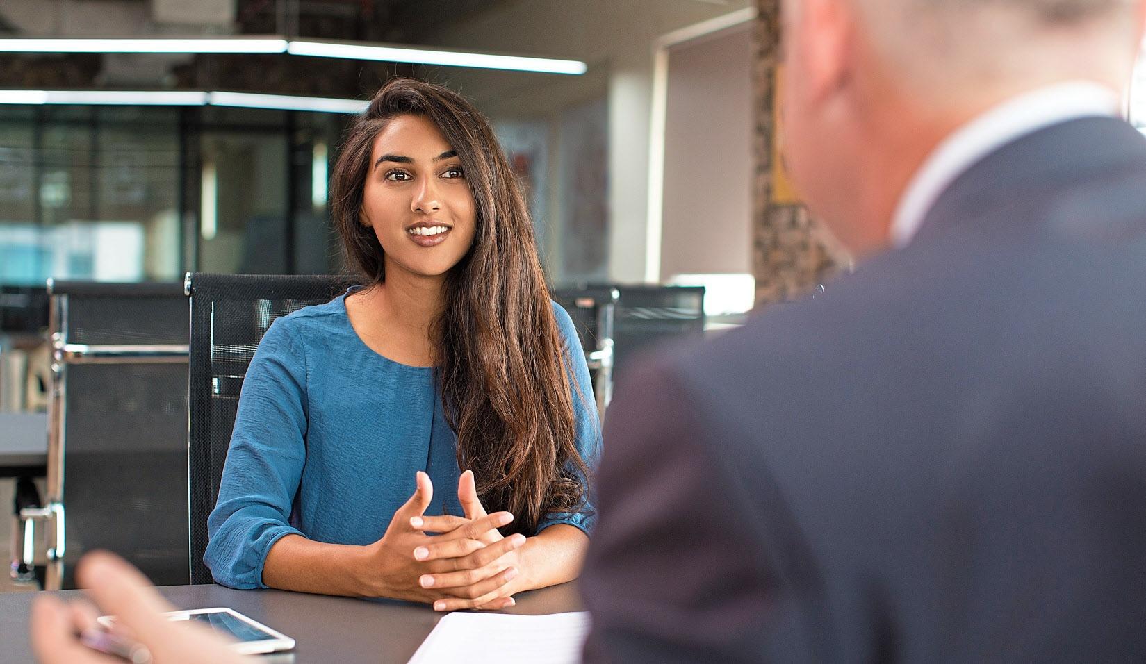 Einem Bewerbungsgespräch sollte eine gute Vorbereitung vorausgehen.Foto: Getty Images