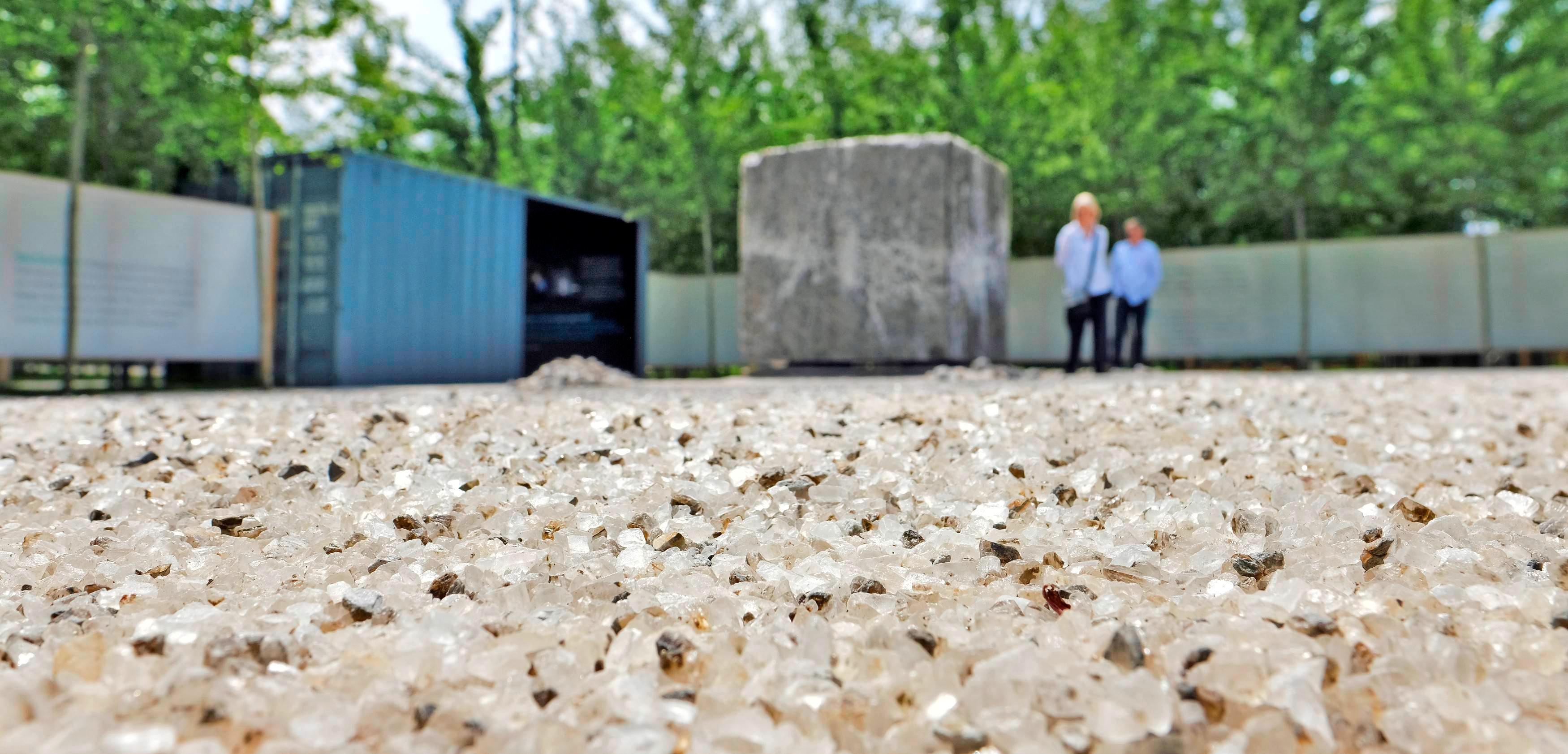 Salzgarten: Ausstellung, die in die Welt des für die Region typischen Salzabbaus führte.