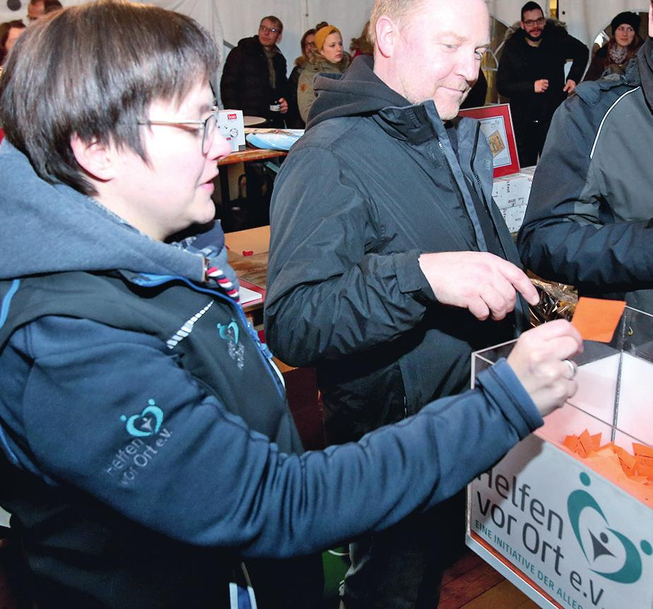 Befassen sich schon lange mit dem Projekt Mühlenquartier: Dirk Reuß und David Reitz, Geschäftsführer von Baugeschäft Ernst.© Beate Ziehres