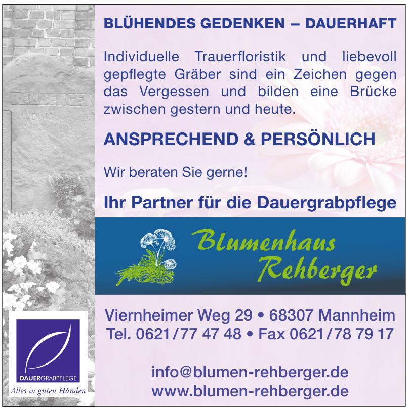 Blumen Rehberger