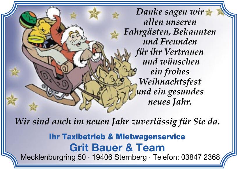 Grit Bauer & Team