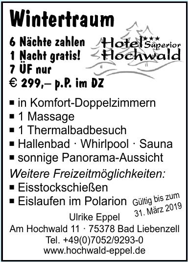 Hotel Superior Hochwald