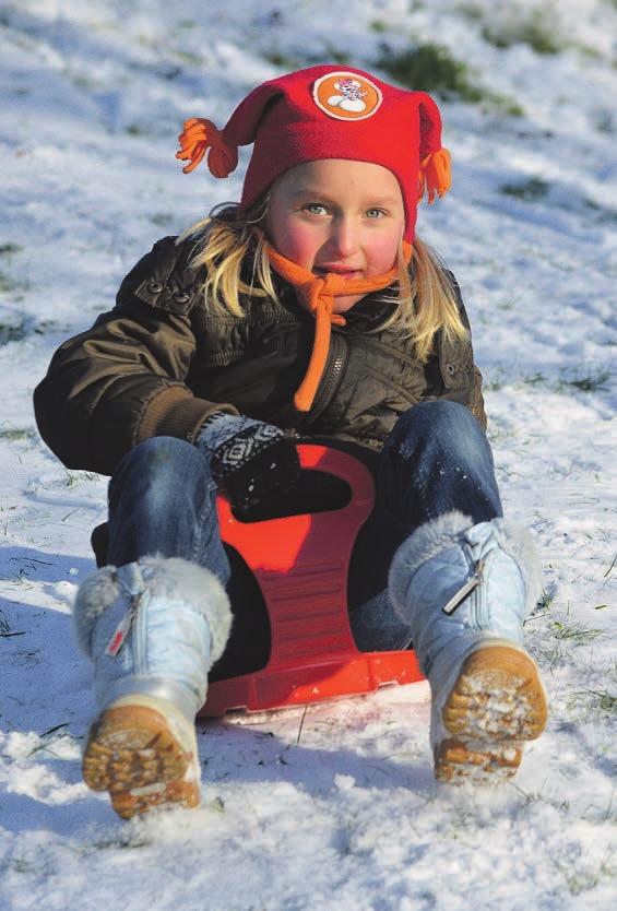 Ein schneereicher Winter überstrahlt in der Erinnerung alle anderen Winter, die nicht so verschneit waren