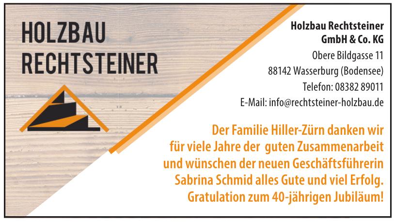 Holzbau Rechtsteiner GmbH & Co. KG