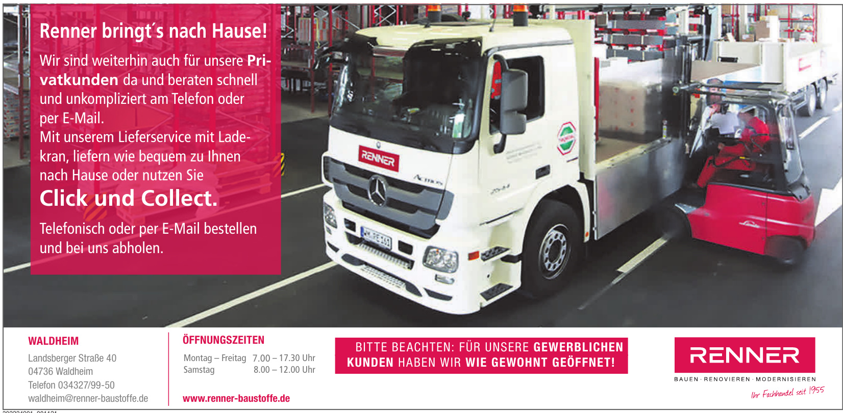 Renner Baustoffe Waldheim