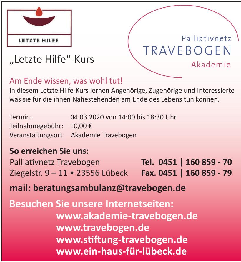 Palliativnetz Travebogen Akademie