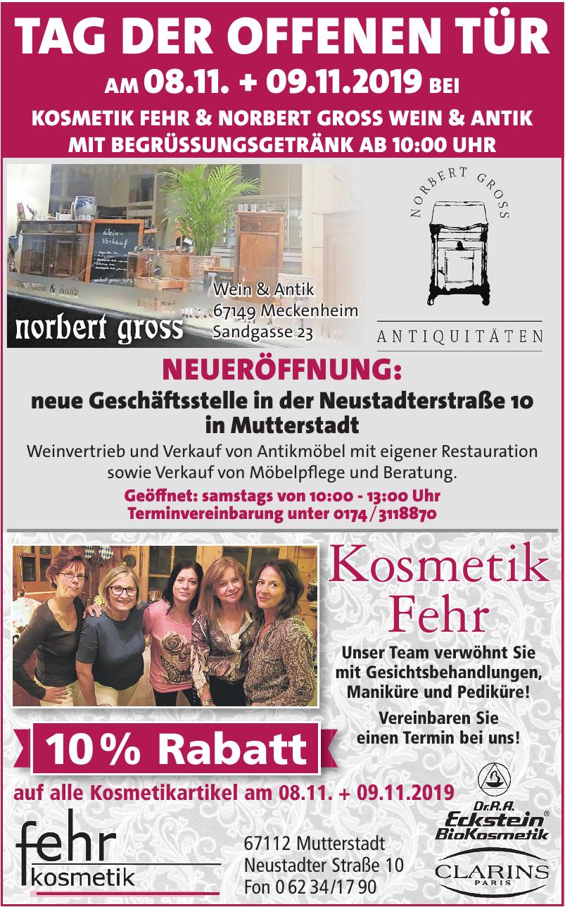 Kosmetik Fehr & Norbert Gross Wein & Antik
