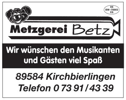 Metzgerei Betz