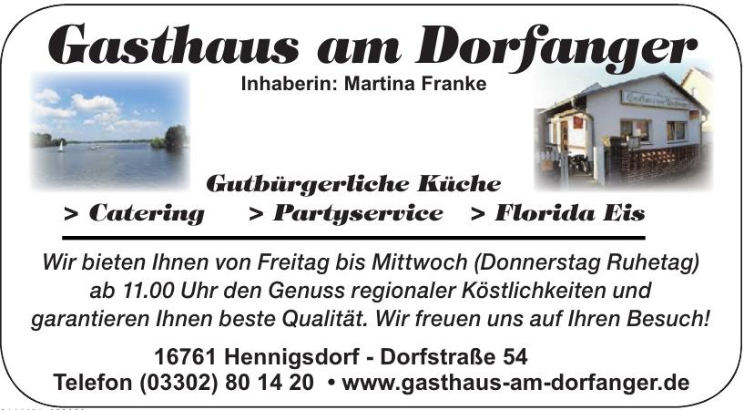 Gasthaus am Dorfanger