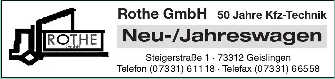 Rothe GmbH Neu- / Jahreswagen