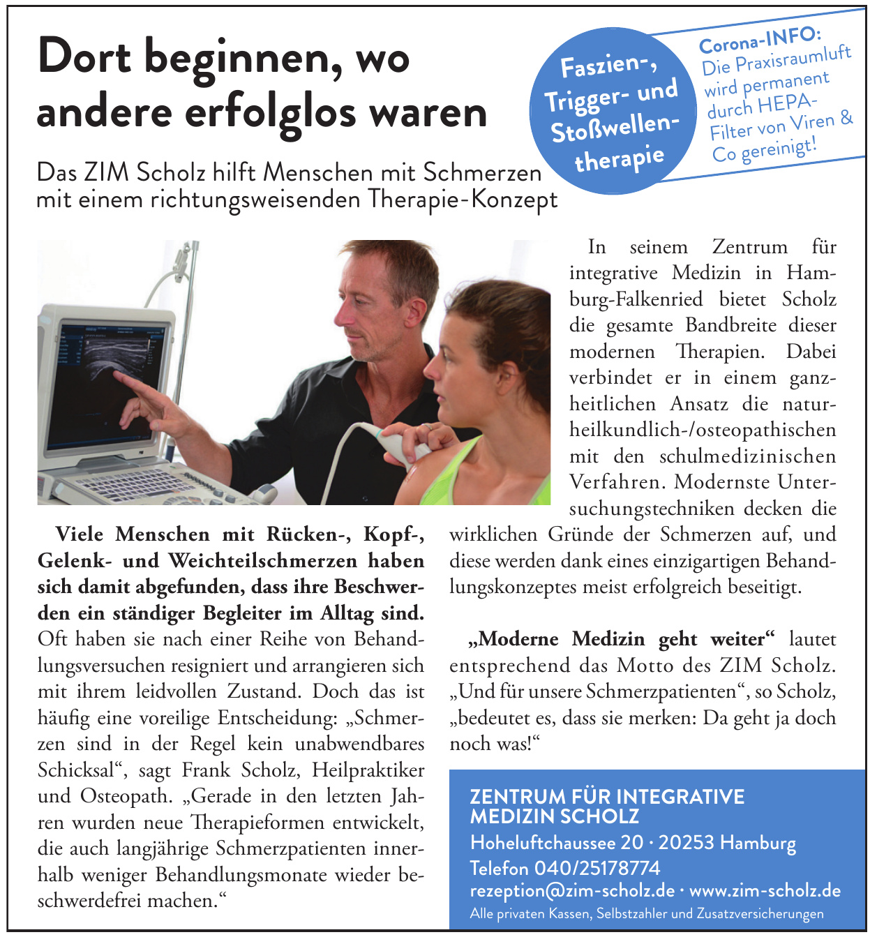 Zentrum für integrative Medizin Scholz