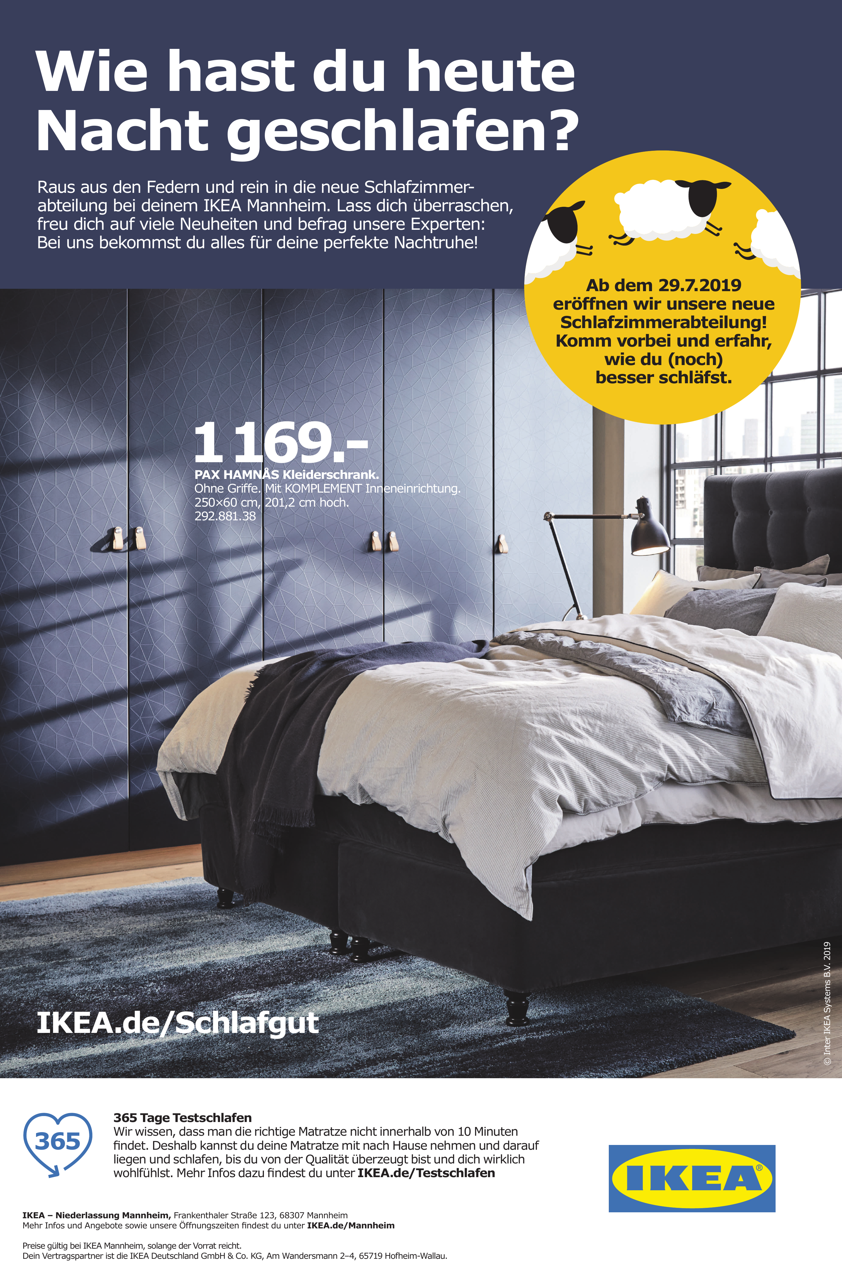 IKEA – Niederlassung Mannheim
