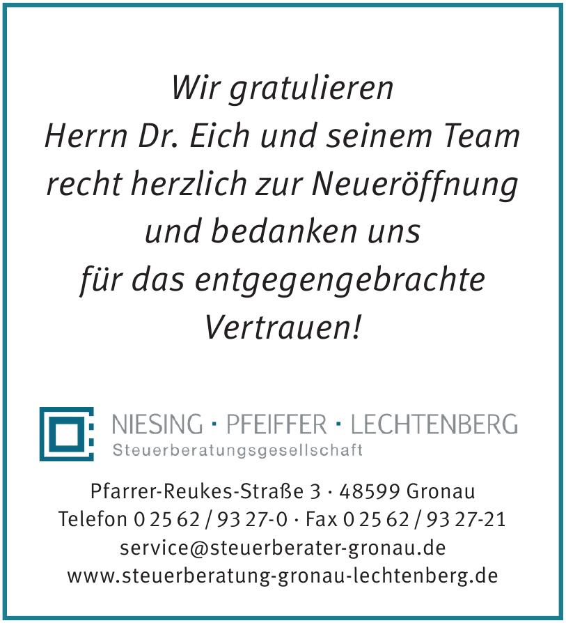 Niesing, Pfeiffer, Lechtenberg Steuerberatungesellschaft