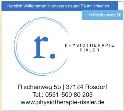 Physiotherapie Rißler
