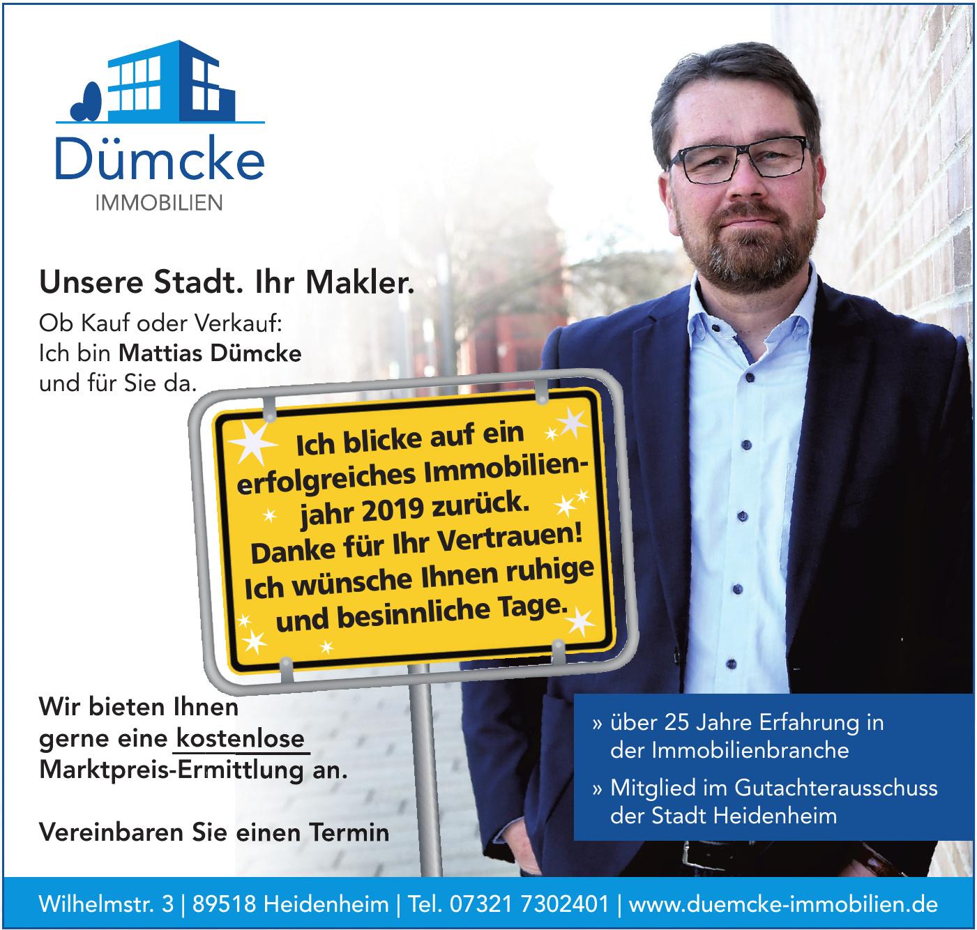 Dümcke Immobilien