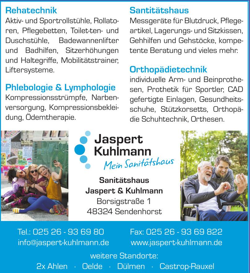 Sanitätshaus Jaspert & Kuhlmann
