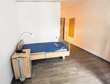 Die Räume für die künftigen Bewohner sind großzügig ausgestattet.