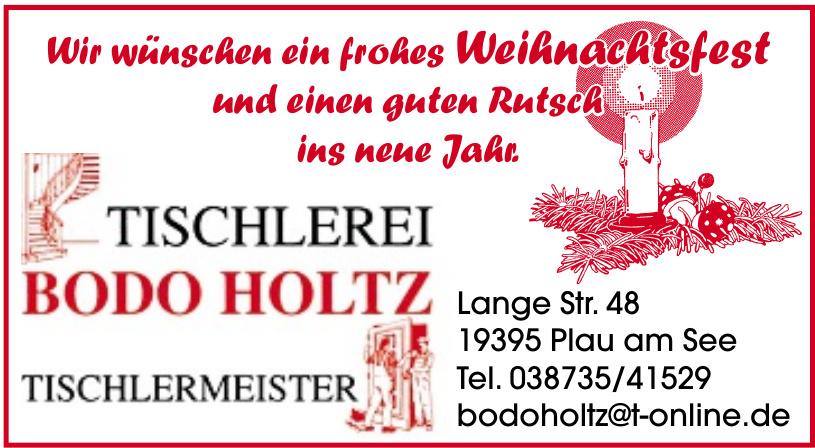 Tischlerei Bodo Holtz