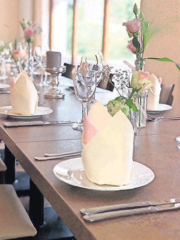 Ob Konfirmation, Hochzeit oder Familienfeier – im Bistrorante da Priscilla wird für bis zu 80 Personen ehrliche italienische Küche aufgetischt.