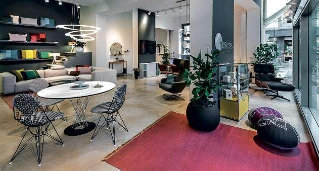 Design-Klassiker und modernes Wohn-Design werden in den ständig wechselnden Ausstellungen bei husens präsentiert. FOTO: HUSENS