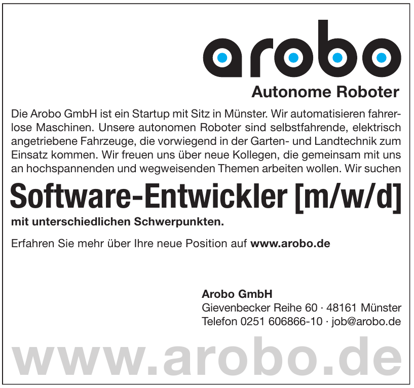 Arobo GmbH