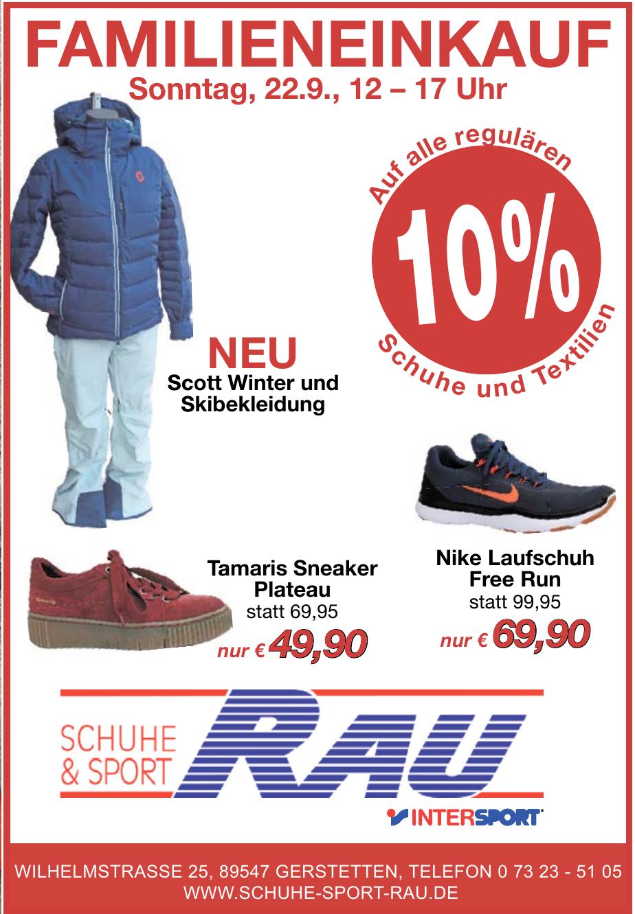 Intersport Schuhe & Sport Rau