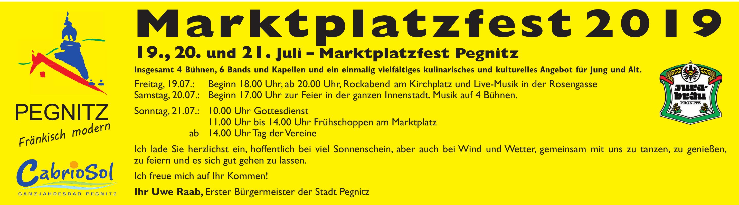 Marktplatzfest 2019
