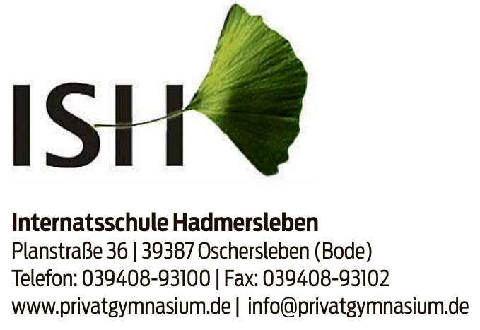 Internatsschule Hadmersleben gGmbH