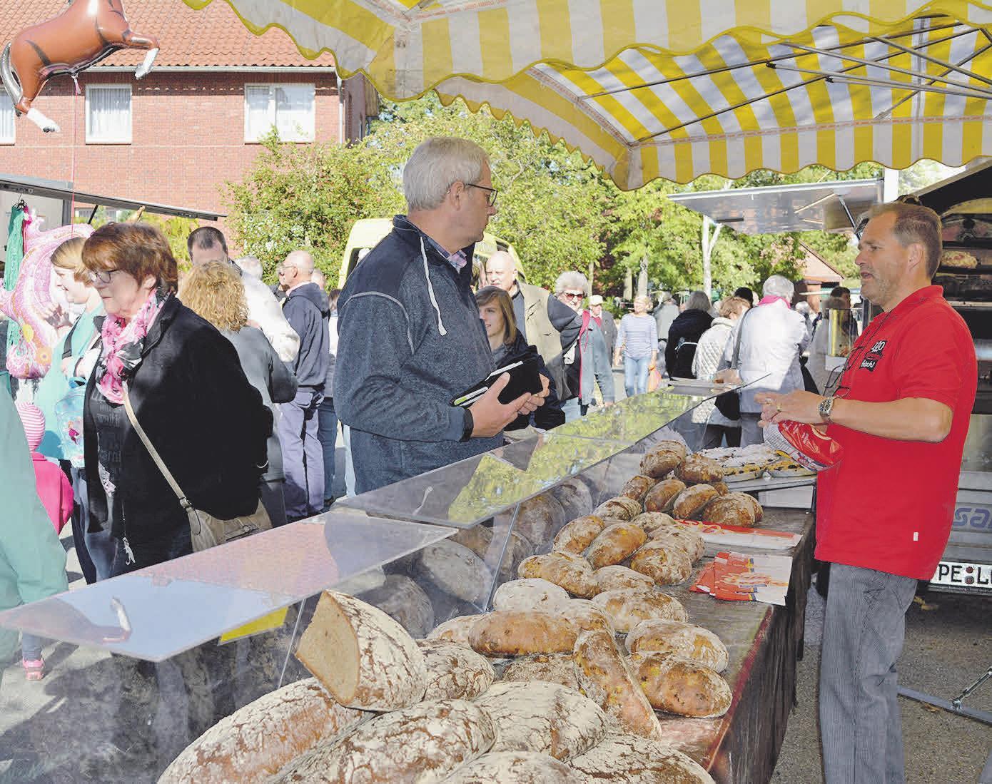 Die Bäckerei Grete will die Besucher mit frisch gebackenen Broten verwöhnen.