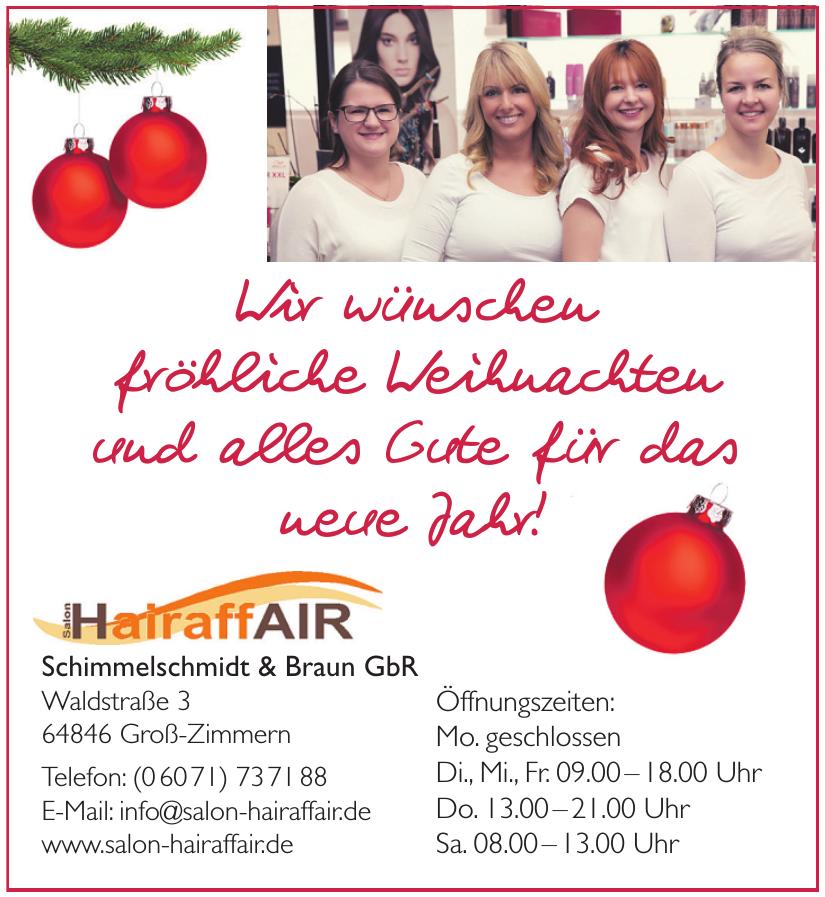 Hairaff Air Schimmelschmidt & Braun GbR