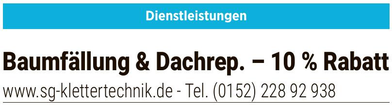 Baumfällung & Dachrep.