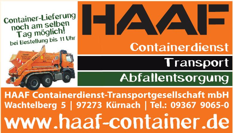 HAAF Containerdienst-Transportgesellschaft mbH